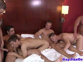 groupsex, homosexual, mușchi