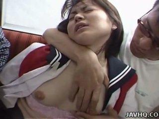 日本语 青少年 在 学校 制服 has 三人行