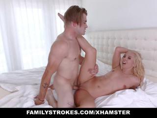 Familystrokes - Mom Bails Son out to Fuck: Free HD Porn e7