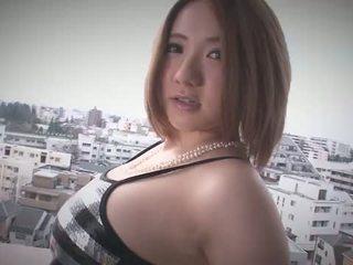 Alice ozawa gives a japan pagsubo ng titi at fucks two guys