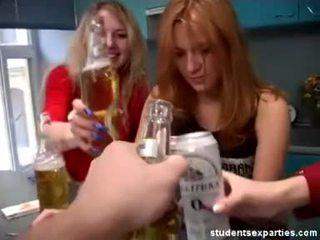 Het studenten parten dances förför guys video-
