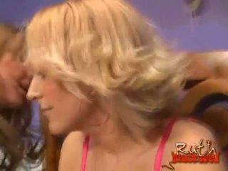 nóng nhất cô gái tóc vàng thực, xem interracial thực, lớn ffm chất lượng