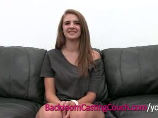young, cum, audition