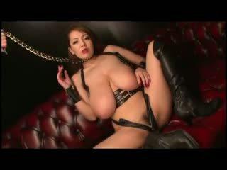 Hitomi tanaka - اليابانية كبير الثدي!