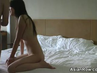 Asian Lovers Doing It In A Hotel Room