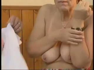 grannies, old+young, facials