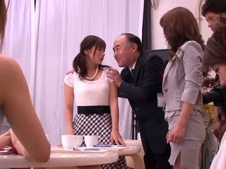 Akiho yoshizawa, mika kayama και yuma asami πονηρό δραστηριότητα
