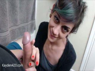 Cute girl seduces her friends husband in POV
