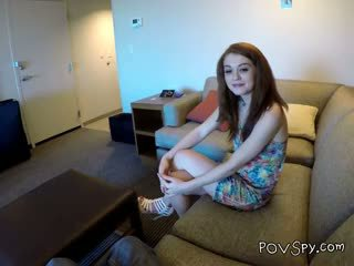 Teen Alice Aka Ella Hughes Suck Cock She Met On Facebook