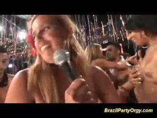熱 巴西人 性別 黨 狂歡
