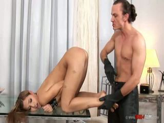 Sınıf bloom tied ve spanked