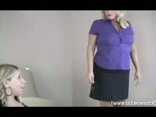 Mom Caught Her Teen Daughter Sucking BF s Dick