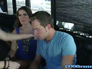 Abby krysse tugging kuk med friends