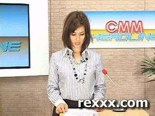 খবর reporter gets bukakke সময় তার কাজ (maria ozawa bu