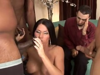 Kendra Secrets -Huby watching wife gangbanged
