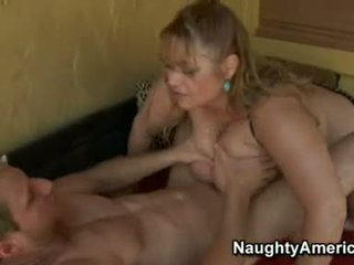 Hawt And Wild Samantha 38g Takes Her Man's Pecker So Hard In Her Slippery Mouth