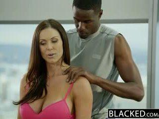 Blacked fitness babe kendra lust loves reusachtig zwart lul