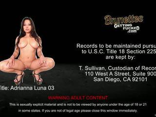 Eat sleep porno: adrianna luna cunt fucked pov style