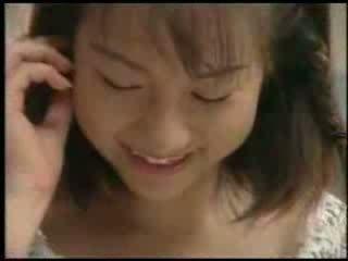 Jovem grávida japonesa beginner vídeo