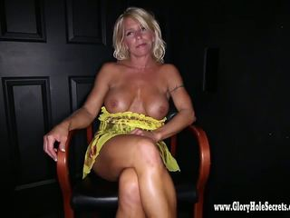 Gloryhole Secrets Fit milf Gina