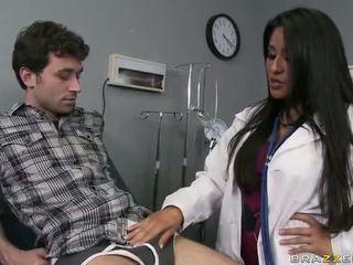 Stor röv doktorn jenaveve jolie wants till gets körd hård video-