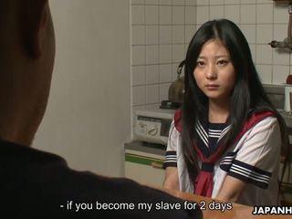 일본의, 청소년, 아가씨