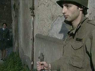 Two American Soldiers Fucks Enemy's Gorgeous Busty Italian Daughter Monica!
