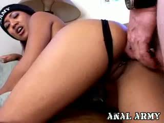 brunette, black and ebony, anal