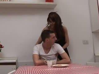Sexy Italian Mom And Boy (ita)