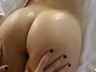 brunette, erotic massage, massage room