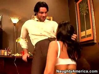 Naida loving slut penny flame receives hänen kumulat hole thumped mukaan a rock kova kukko