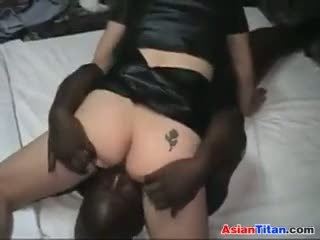 Dirty Asian Loves Interracial Creampies
