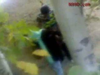 Arab iranian gaja fodido em o cu em o woods