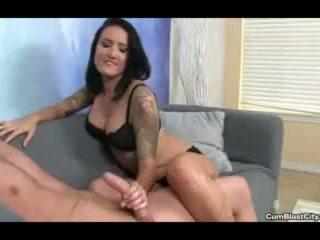 Hot Babe Loves to Enjoy Her Warm Cumshots
