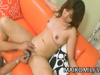 Hitomi fujiwara kısa saç kuliste oğlan becerdin