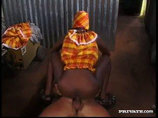 Afrykańskie królowa anal