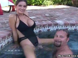 Found Him Underwater, Licking Pussy!