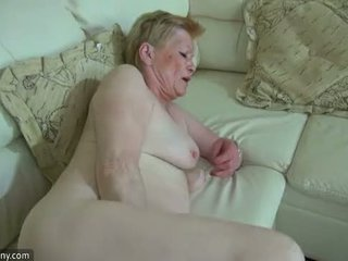 OldNanny Horny old granny with cute girl masturbate together