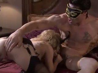 Disguised și murdar aiden starr takes o nob muncă de la o masked meatpole