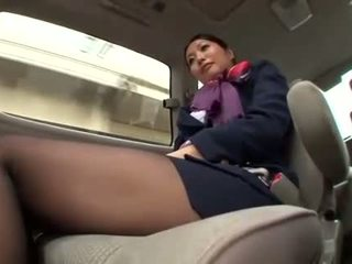 seragam, stewardess, asian