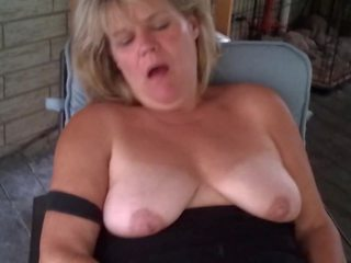 Heather on the Patio: Free MILF HD Porn Video 1d