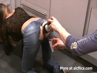 Fisten meine girlfriends monster gaping arschloch