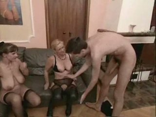 Amateur mature swingers threesome sex Video
