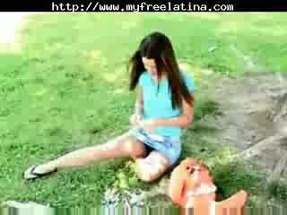 Pôvabný chloe - pinata zábava a viac chica semeno shots chica prehltnúť braziliera mexicana španielske