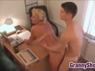 big boobs, granny, blowjob