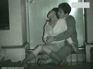 Jap μπανιστηριτζής κατάσκοπος σπέρμα κρυμμένο camera έξω δημόσιο σεξ couples πραγματικότητα οιεντάλ ερασιτεχνικό