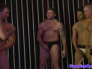 Gaysex hunks feasting on hard cock