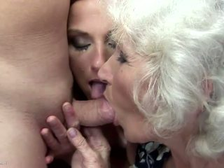 Mom and Granny Fucked and Pissed on by...