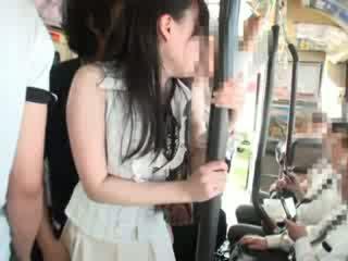Innocent 병아리 모색 에 a 버스