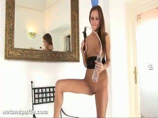 Abby using labia pompa